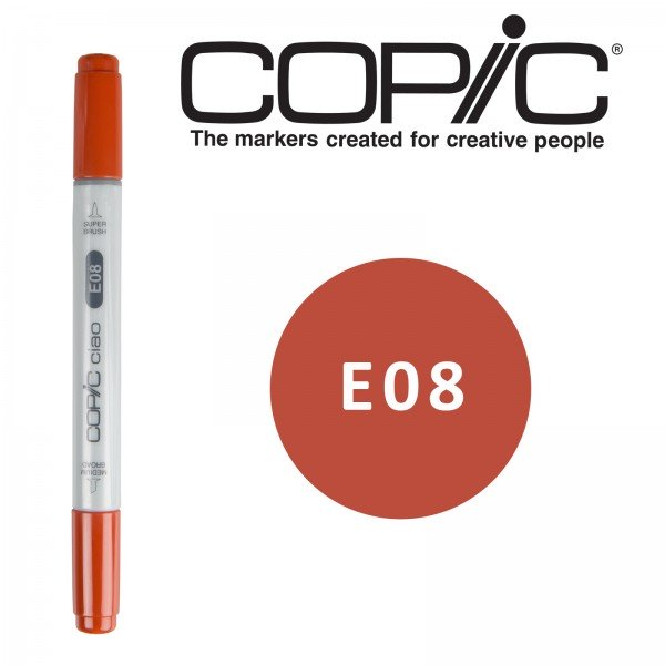 Copic ciao Retuschierstift - E08 - Brown