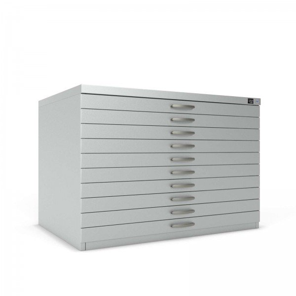 Plan Chest 7201 DIN A0 - 10 Drawers 'Express'