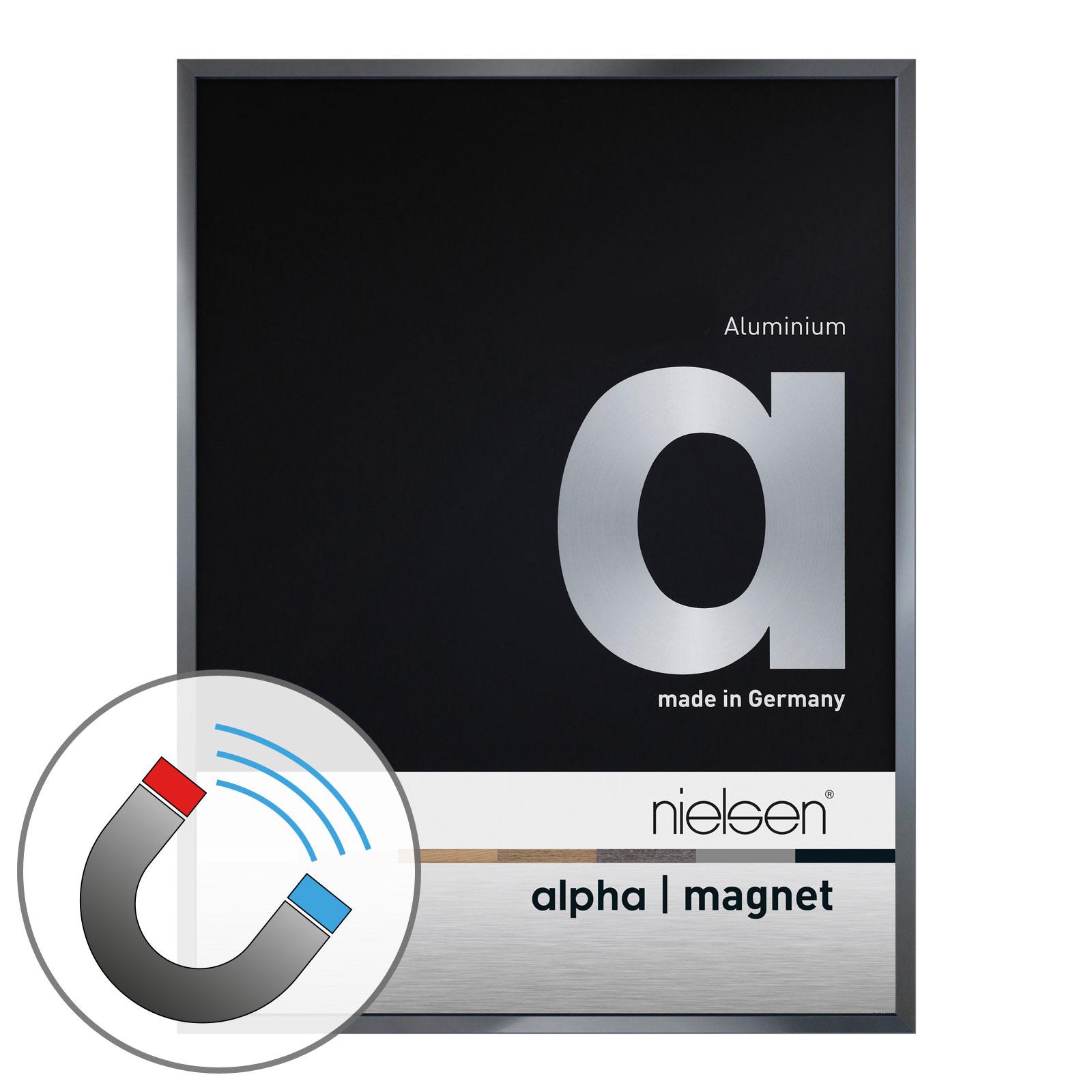 Nielsen Bilderrahmen Alpha Magnet Aluminium   Nielsen Bilderrahmen ...