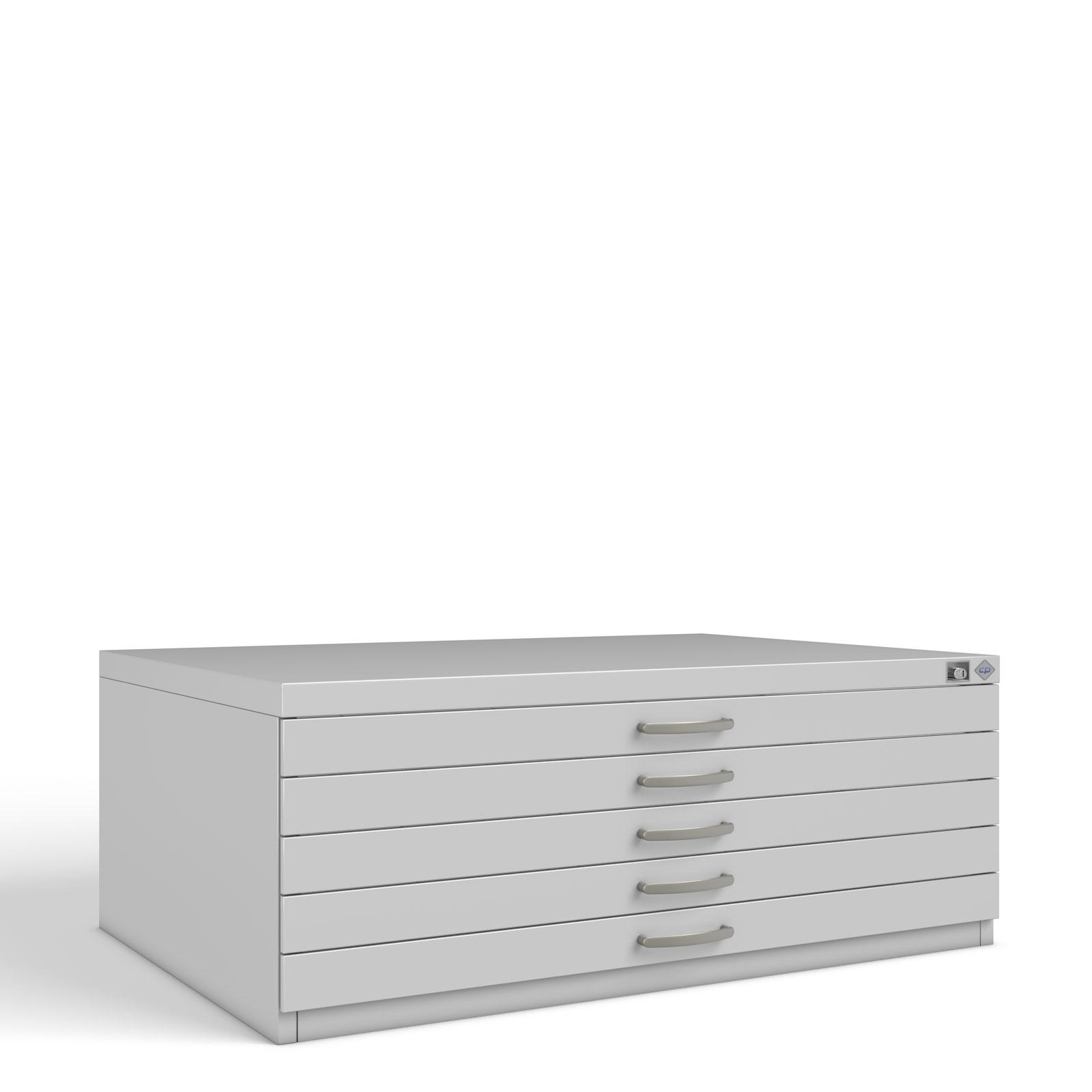 Planschrank Zeichenschrank 7200 Din A0 5 Schubladen Cp