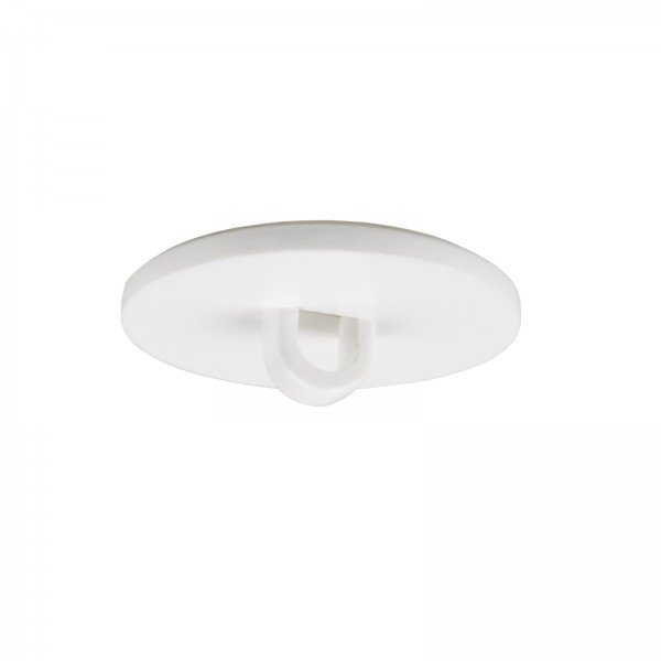 Round Hanger for ceilings, self-adhesive - 10 pieces