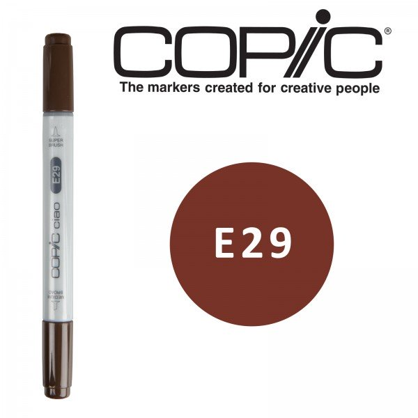 Copic ciao Retuschierstift - E29 - Burnt Umber