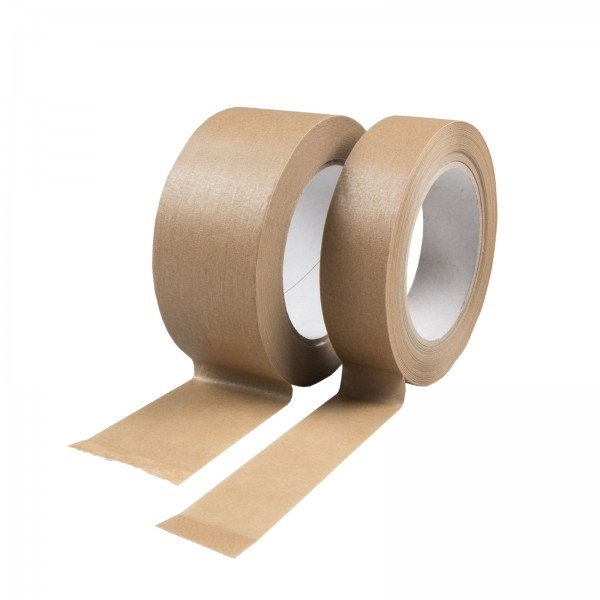 Paper packing tape brown, self-adhesive, 50m roll