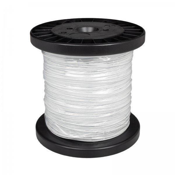 Premium Steel Cable 'white coated', 100 metres
