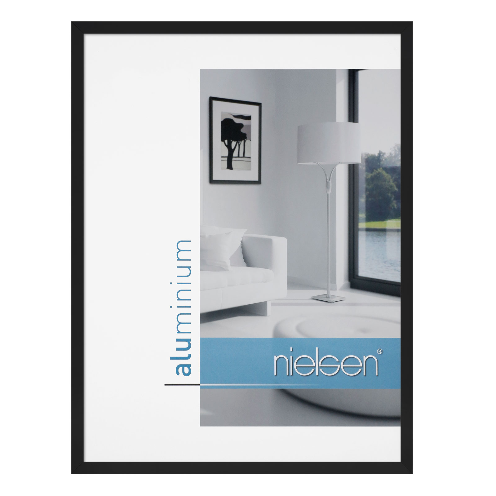 nielsen bilderrahmen c2 aluminium nielsen bilderrahmen bilderrahmen leha technik. Black Bedroom Furniture Sets. Home Design Ideas