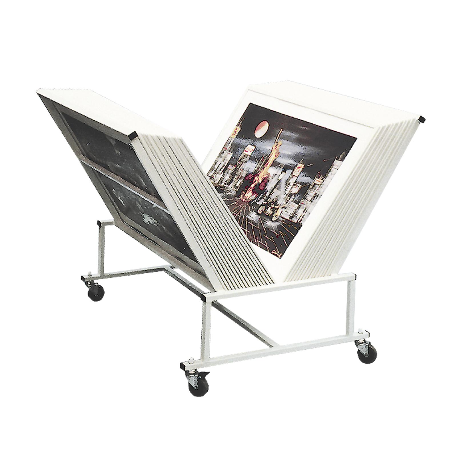 Galeriewagen - 70 x 100 cm | Präsentation | Schutz / Präsentation ...