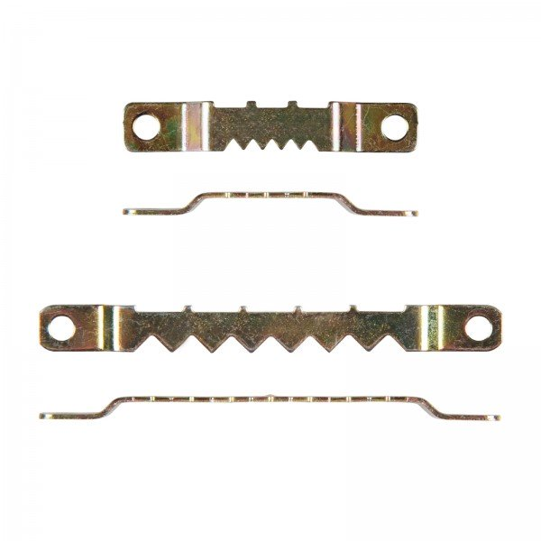 Solid Sawtooth Hanger 'flat' (screw hole) - 100 pieces